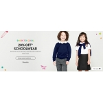 Debenhams: 20% off schoolwear