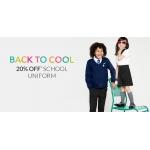 Debenhams: 20% off school uniform