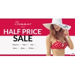 Debenhams: Summer Sale up to 50% off women's, men's and kids' items