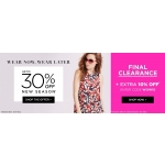 Dorothy Perkins: up to 30% off for new seasons