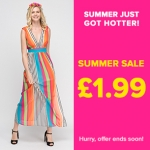 Everything 5 Pounds: £1.99 on womenswear, menswear and childrenswear