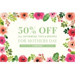 Elvi: 50% off all outerwear, tops & dresses