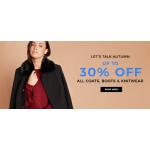 Evans Clothing: 30% off all coats, boots & knitwear