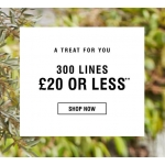 Evans Clothing: 300 lines £20 or less off