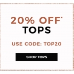 Evans Clothing: 20% off tops