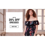 Evans Clothing: up to 20% off dresses