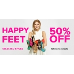 Everything 5 Pounds: 50% off selected heels, trainers, boots, flats and sandals