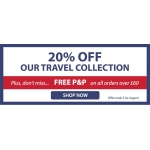 Expert Verdict: 20% off travel collection