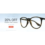 Eyewearbrands.com: 20% off frames and lenses