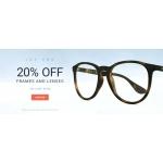 Eyewearbrands.com: 20% off frames and lenses