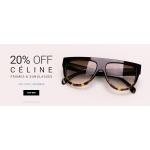 Eyewearbrands.com: 20% off Celine frames and sunglasses