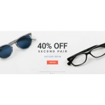 Eyewearbrands.com: 40% off second pair of sunglasses