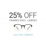 Eyewearbrands.com: 25% off frames