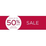F.Hinds Jewellers: Sale up to 50% off selected watches