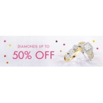 F.Hinds Jewellers: up to 50% off diamonds
