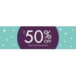 F.Hinds Jewellers: up to 50% off selected diamonds