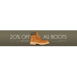 USC: 20% off all boots