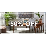 Fifty Plus: Sale up to 50% off Furniture Warehouse Clearance
