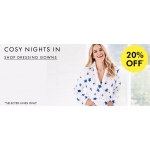 Fashion World: 20% off selected dressing gowns