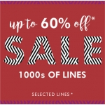 Fashion World: Sale up to 60% off clothing, footwear and lingerie