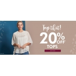 Fashion World: 20% off tops
