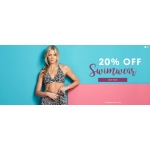 Fashion World: 20% off swimwear