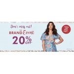 Fashion World: 20% off dresses, tops and jeans