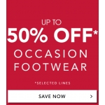 Fifty Plus: Sale up to 50% off occasion footwear