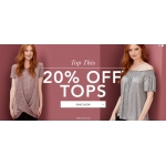 Fifty Plus: 20% off tops