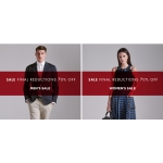 Flannels: Final Reductions up to 70% off women's and men's collections