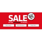 Footasylum: Sale extra 15% off women's, men's and kids' fashion