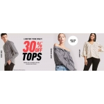 Forever 21: 30% off tops