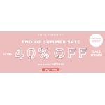 Forever 21: extra 40% off ladies fashion