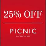 Fortnum & Mason: Sale 25% off picnic essentials & picnic hampers