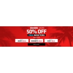 Footasylum: Summer Sale up to 50% off women's, men's, kids' clothing and footwear