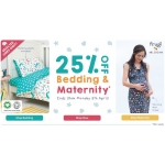 Frugi: 25% off bedding designs & maternity styles