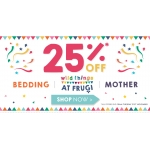 Frugi: 25% off kids clothing and bedding