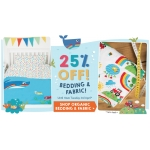 Frugi: 25% off bedding & fabric
