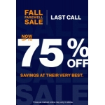 Gap: sale up to 75% off