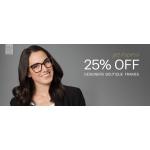 Glasses Direct: 25% off designer boutique frames