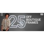 Glasses Direct: 25% off boutique frames