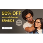 Glasses Direct: 50% off designer frames