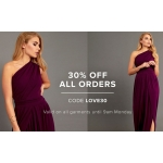 Gorgeous Couture: 30% off ladies garments