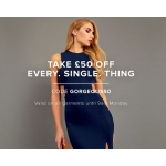 Gorgeous Couture: £50 off every single thing