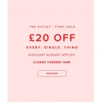 Gorgeous Couture: Bank Holiday promotion £20 off everything from outlet