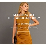 Gorgeous Couture: Bank Holiday promotion 25% off dresses