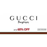 Fashion Eyewear: Sale up to 60% off Gucci Sunglasses