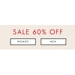 Guess: Sale 60% off women and men clothing