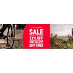 Hargroves Cycles: Sale up to 33% off specialized 2017 bikes