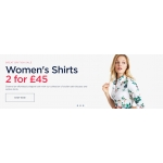 Hawes & Curtis: womens shirts from £19,95